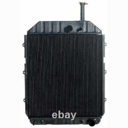 Radiator Compatible with Ford 8730 TW25 E3NN8005DE15M
