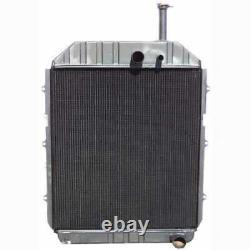 Radiator Compatible with Ford TW35 8830 TW30 82847503
