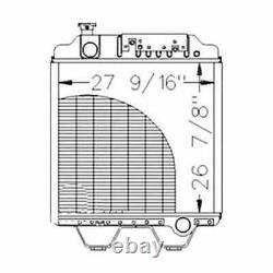 Radiator Compatible with New Holland 8670A 8670 G170 86012174