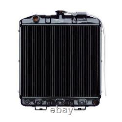Radiator Fits Ford Fits New Holland Tractor 14 7/8 X 17 3/16 X 1 1/4 SBA31010