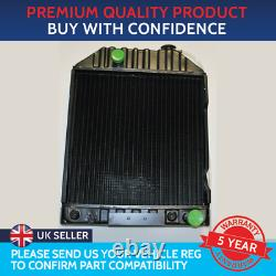 Radiator To Fit Ford Tractor 4000 4100 4110 5110 6410 6610 7000 7410 7610