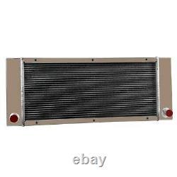 Radiator fit Bobcat 642 642B 643 722 742 743 Skid Steer Loaders 6571713 6630246