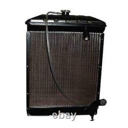 Radiator with Cap & Pads Fits Ford 2000 4000 NAA Jubilee 600 700 800 900 901