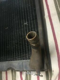 Vintage Early1960s Ford 600 WorkMaster Series Tractor Radiator-Appears Original